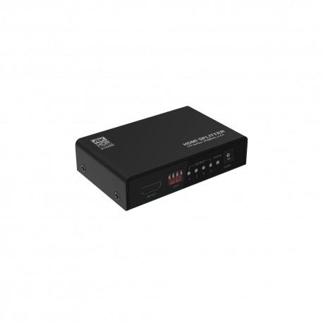 THDSP14D-4K60 4K60Hz対応 4台のモニターに同時出力できる HDMI2分配器