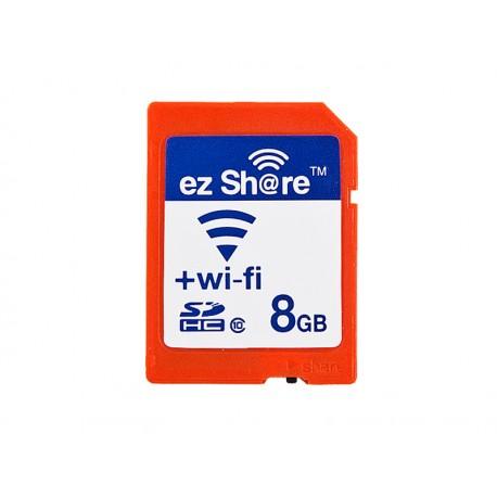 Wi-Fi機能を搭載したSDカード 【ezShare】