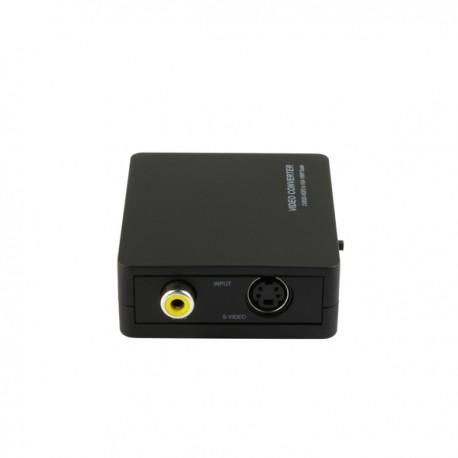 コンポジットまたはS端子を、VGA(Dsub15Pin)変換するコンバーター 【TSCVGA2】