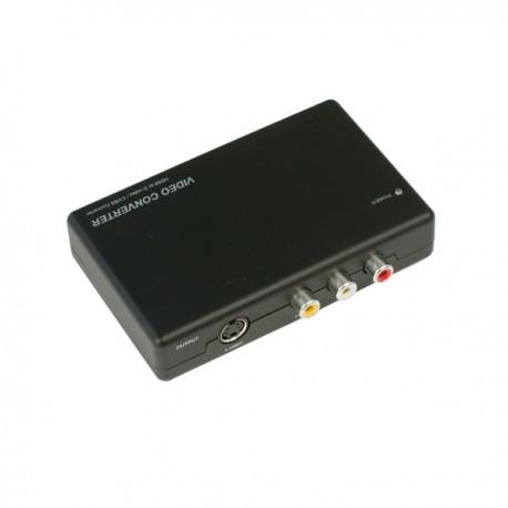 ビデオコンバーター 【ダウンスキャンコンバーター】HDMIをS-video/コンポジットに変換【THDMISC2】