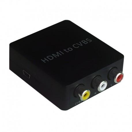 変換器HDMI to コンポジット AC不要タイプ【HDCV-001】