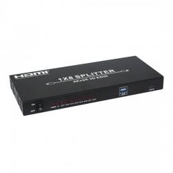 1:8HDMI分配器 4K,3D 対応 【THDSP18-4K】