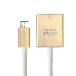 TypeC-HDMI変換アダプタ